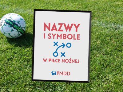 Czy mówimy jednym językiem? Nazwy i symbole w piłce nożnej.